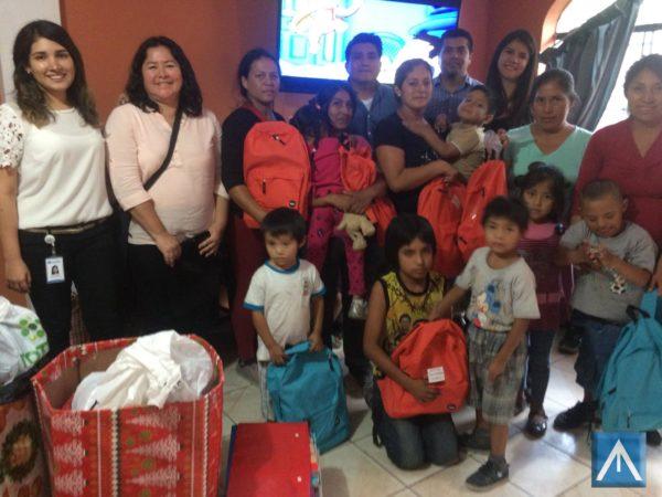 TRABAJO SOCIAL EN CHOSICA-ANDDES PERU