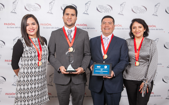 ANDDES PERÚ WINS PERUVIAN COMPANY OF THE YEAR 2017 AWARD