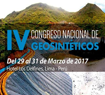 IV CONGRESO NACIONAL DE GEOSINTÉTICOS