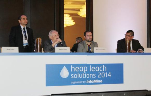 ANDDES PARTICIPÓ EN LA CONFERENCIA HEAP LEACH SOLUTIONS 2014